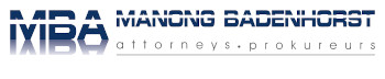 Manong Badenhorst Attorneys Logo